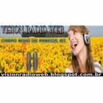 Logo da emissora Vision Rádio Web