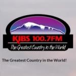 Logo da emissora Radio KIBS 100.7 FM
