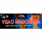 Logo da emissora Radio Visão Missionaria