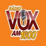 Logo da emissora Rádio Vox 1600 AM