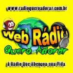 Logo da emissora Rádio Quero Adorar