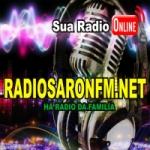 Logo da emissora Rádio Saron FM