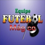Logo da emissora Rádio Futebol Mágico