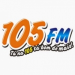 Logo da emissora R�dio Colinense 105.9 FM