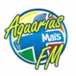 Logo da emissora Rádio Aquarius Mais 105.9 FM
