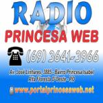 Logo da emissora Rádio Princesa Web