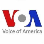 Logo da emissora Radio Voice of America (VOA)