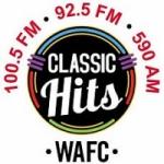 Logo da emissora Radio WAFC 92.5 FM