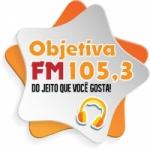 Logo da emissora Rádio Objetiva 105.3 FM