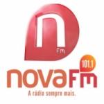 Logo da emissora Rádio Nova 101.1 FM