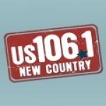Logo da emissora WUSH 106.1 FM
