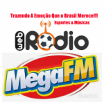Logo da emissora Rádio MegaFm