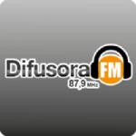 Logo da emissora Rádio Difusora 87.9 FM