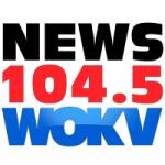 Logo da emissora Radio WOKV 104.5 FM