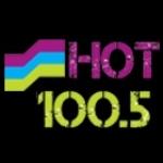 Logo da emissora WVHT 100.5 FM