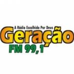 Logo da emissora Rádio Geração 99.1  FM