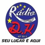 Logo da emissora Rádio D.K