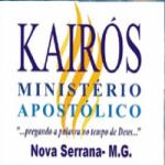 Logo da emissora R�dio Kair�s Em A��o