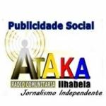 Logo da emissora ATAKA Rádio Jornalismo Comunitário Ilhabela