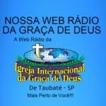 Logo da emissora Nossa Web Rádio da Graça de Deus