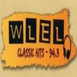 Logo da emissora Radio WLEL 94.3 FM