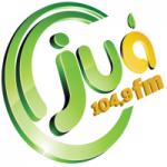 Logo da emissora Rádio Juá 104.9 FM