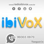 Logo da emissora Rádio Ibivox