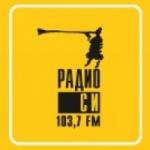 Logo da emissora Radio C 103.7 FM