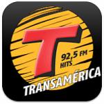 Logo da emissora R�dio Transam�rica Hits 92.5 FM