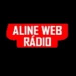 Logo da emissora Aline Web Rádio Super Sertaneja