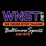 Logo da emissora Radio WNST 1570 AM