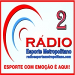 Logo da emissora Esporte Metropolitano 2
