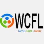 Logo da emissora Radio WCFL 104.7 FM