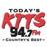 Logo da emissora KTTS 94.7 FM