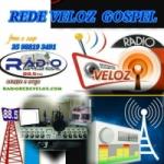 Logo da emissora Rádio Rede Veloz Gospel
