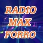 Logo da emissora Rádio Max Forro