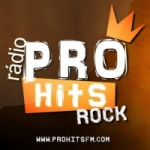 Logo da emissora Rádio Pro Hits Rock