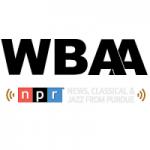 Logo da emissora Radio WBAA HD2 Jazz 101.3 FM