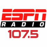 Logo da emissora Radio WFNI W298BB ESPN 107.5 FM