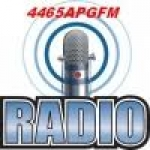 Logo da emissora Rádio 4465 Apg FM
