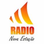 Logo da emissora Rádio Nova Estação