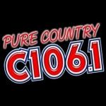 Logo da emissora KWKZ 106.1 FM