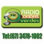 Logo da emissora Rádio Ondas Verdes 104.9 FM