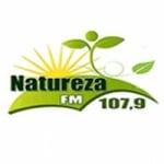 Logo da emissora Rádio Natureza 107.9 FM