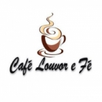 Logo da emissora Caf� Louvor e F�