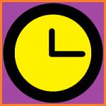 Logo da emissora Rádio Relógio