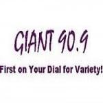 Logo da emissora Radio WBDG Giant 90.9 FM