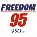 Logo da emissora Radio WXLW Freedom 95 950 AM