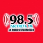 Logo da emissora Radio Yacyreta 98.5 FM