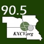 Logo da emissora KXCV 90.5 FM